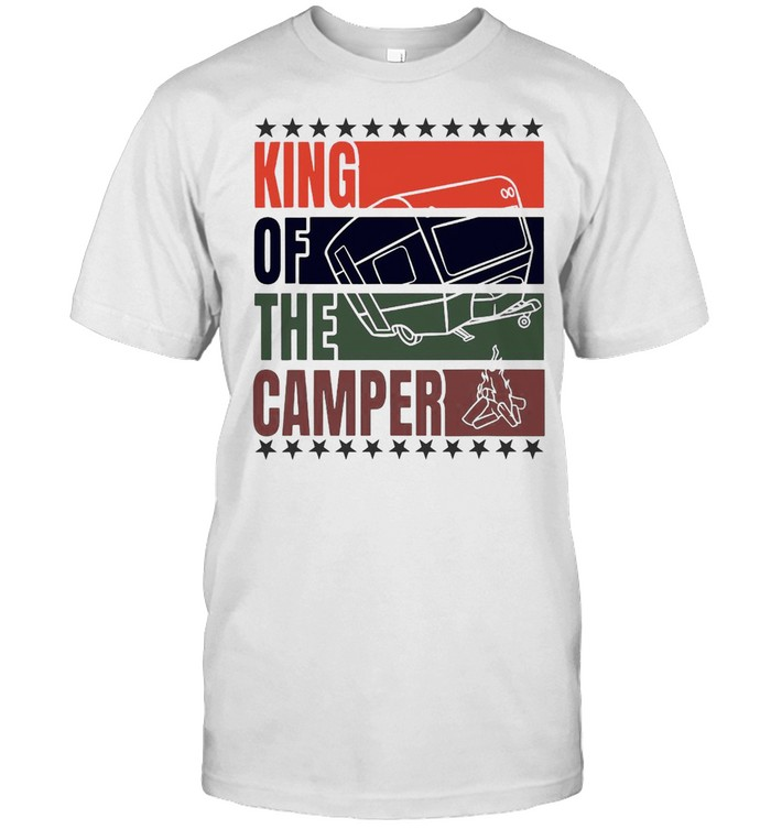 King Of The Camper Camping Retro Shirt