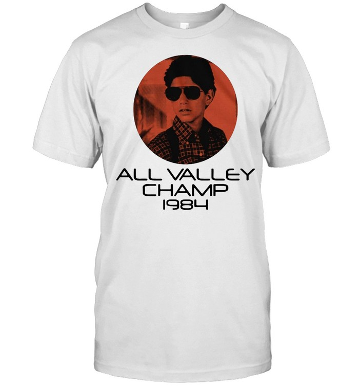 The Karate Kid All Valley Champ 1984 Shirt