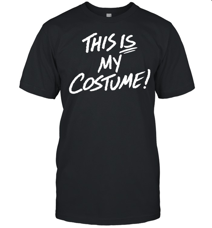 This Is My Costume Halloween Vintage 80S Cosplay Shirt