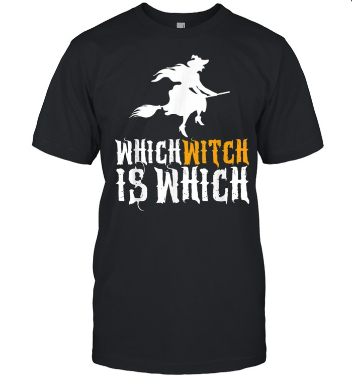 Which Witch Is Which Halloween English Teacher Shirt