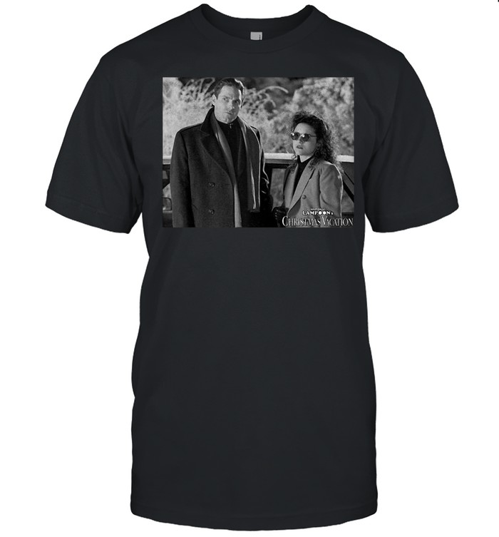 National Lampoons Christmas Vacation Todd And Margo Portrait Shirt