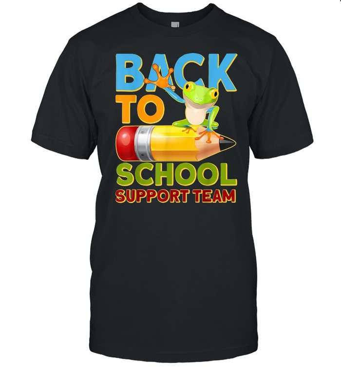 Back To School Support Team Shirt