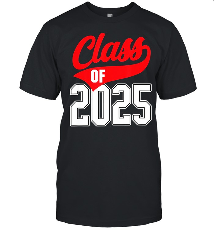 Class Of 2025 Grow With Me Graduate Athletic Style Shirt