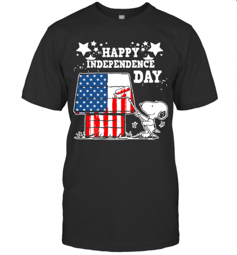 Happy Independence Day 4Th Of July Snoopy Shirt